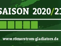 Gladiators vor der Saison 2020/21 Ladebalken