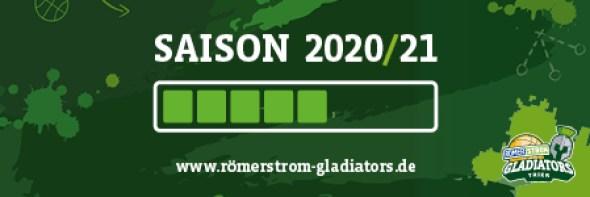 Gladiators vor der Saison 2020/12 Ladebalken