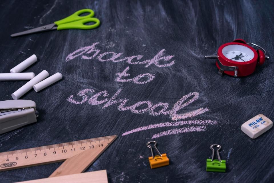 Back to school Schulbeginn