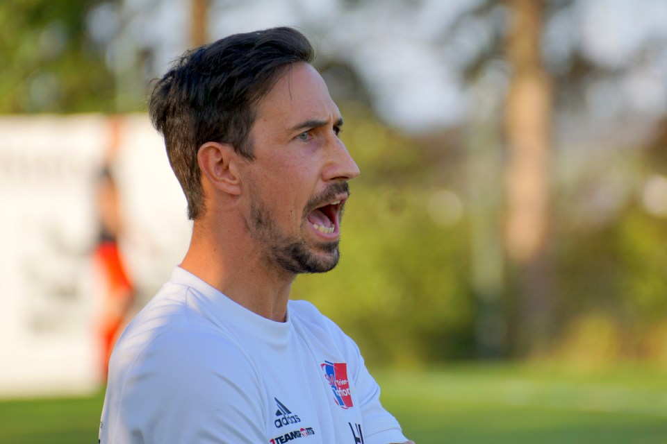 Chef-Trainer Holger Lemke - Foto: Wolfgang Ziewers
