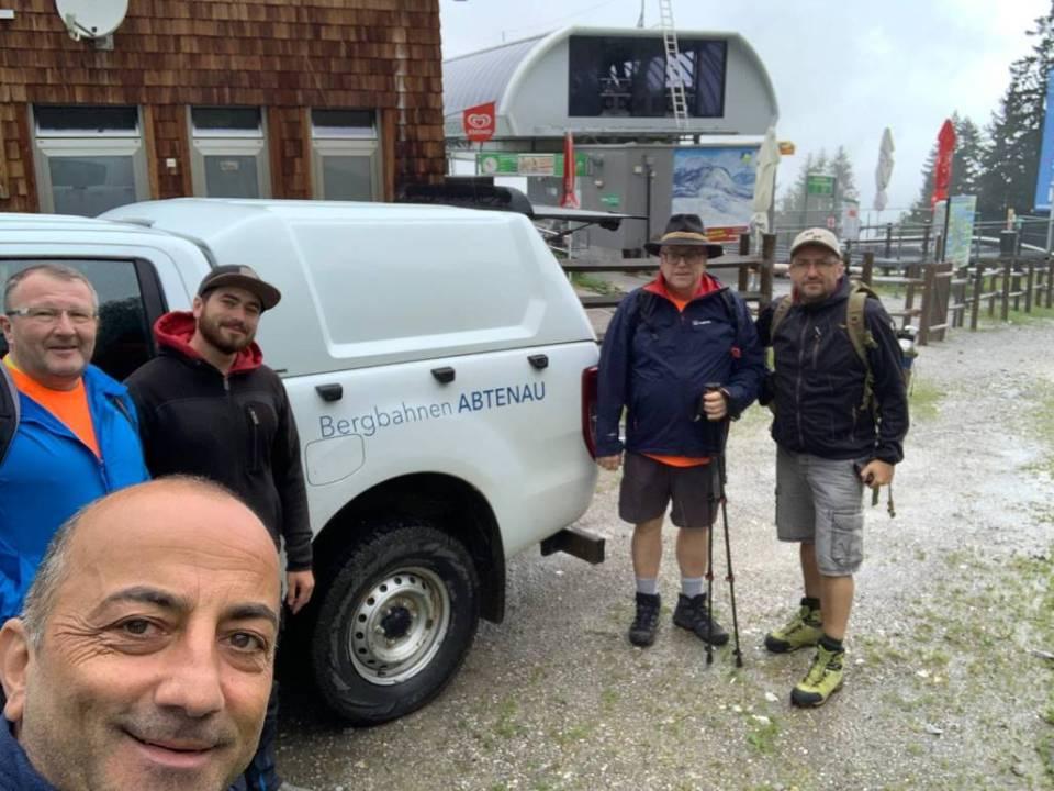 #8Freunde wandern zum dritten Mal für nestwärme e.V. über die Alpen – Tag 4