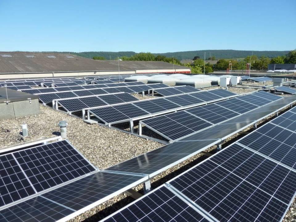 Neue PV-Dachanlage für das Schulzentrum Schweich