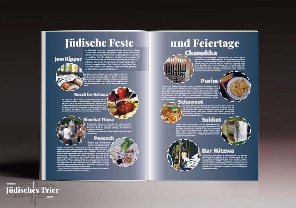 """Seite aus dem Magazin """"Jüdisches Trier"""" - Bildrechte: Ralf Kotschka"""