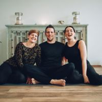 Die drei Mariposas: Ines, Karsten und Selina (v.l.n.r.). Bildrechte: Katharina Jung