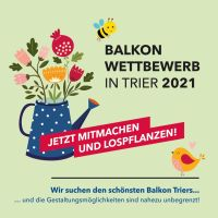Die City-Initiative sucht die schönsten Balkone in Trier. Bildquelle: City-Initiative e. V.