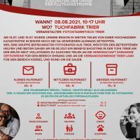Das Plakat für das Benefiz-Shooting. Bildquelle: Fotostammtisch Trier