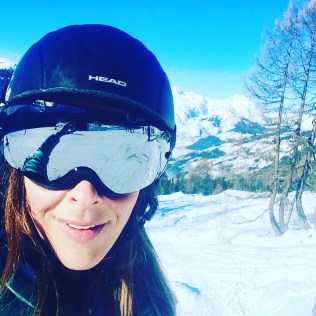 The happy face you get, when you have the slopes to your self