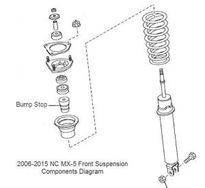 Photo Gallery  20062015 NC MX5 Suspension Diagrams and Info Pictures