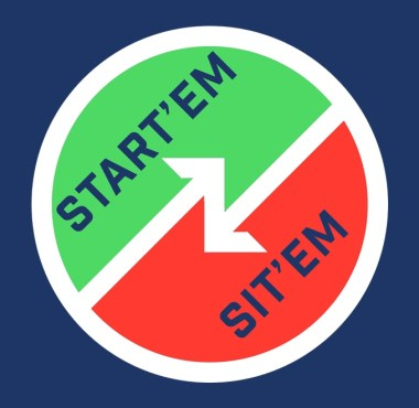 Start and Sits
