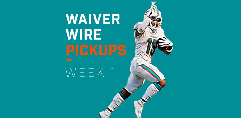 Waiver Wire Pickups Week 1