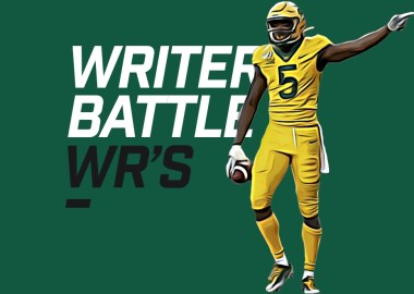 Writers Battle WRs season winners - Denzel Mims
