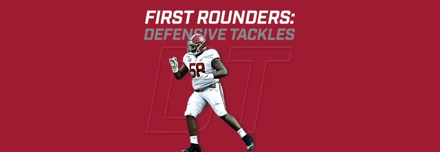 First Rounders DTs - Christian Barmore