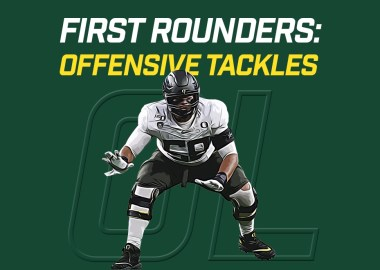 First Rounders OL - Penei Sewell