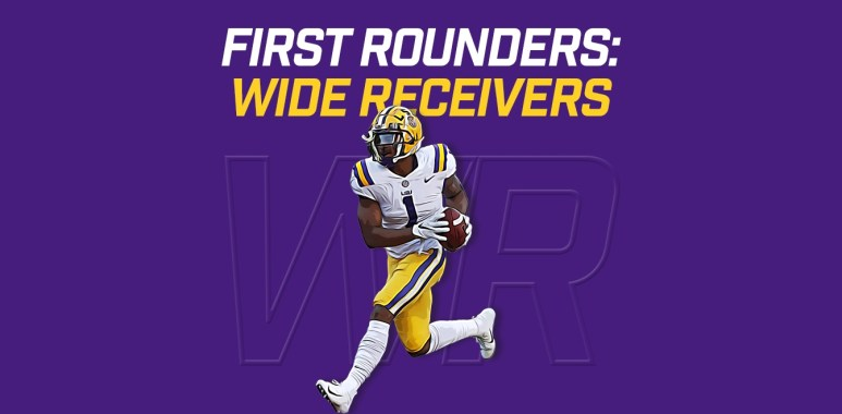 First Rounders WRs - Ja'Marr Chase