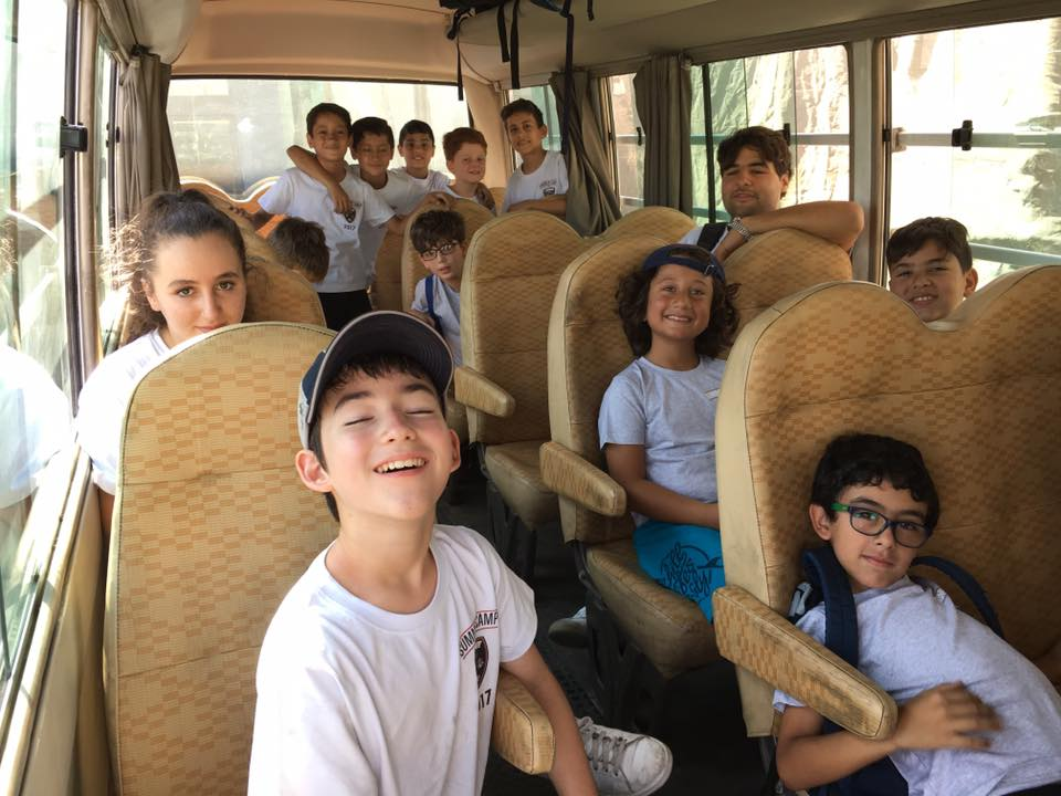 6 Yard summer camp transportation
