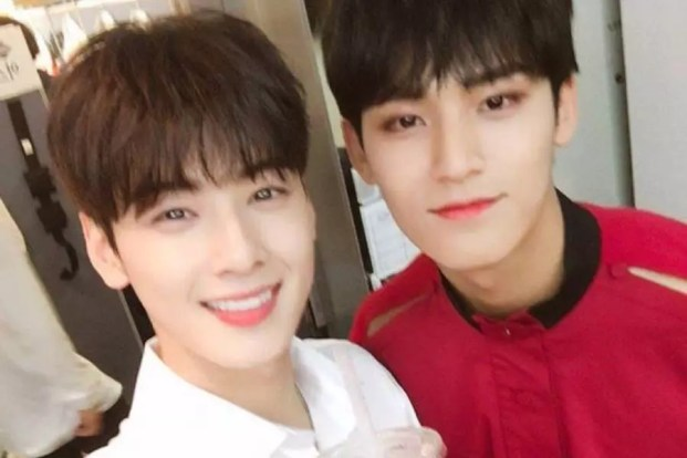SEVENTEEN's Mingyu Sends Gift To Drama Set For ASTRO's Cha Eun Woo
