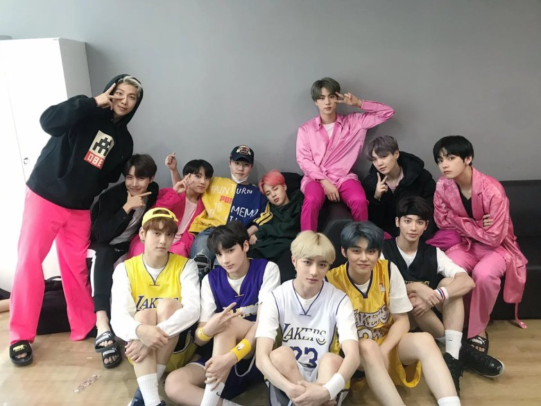 Lee Hyun Shares Big Hit Entertainment Family Photo With BTS And TXT