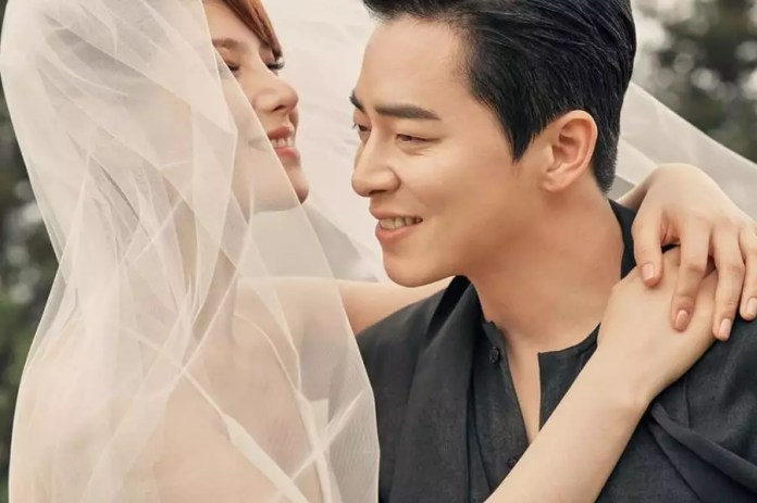 Image result for jo jung suk and gummy wedding