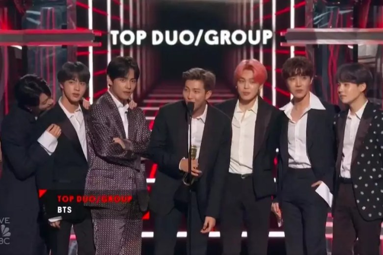 BTS Becomes 1st Korean Artist Named As Top Duo/Group At Billboard Music Awards