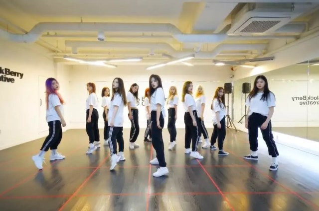 """Watch: LOONA Burns It Up As They Cover BTS's """"Fire"""""""