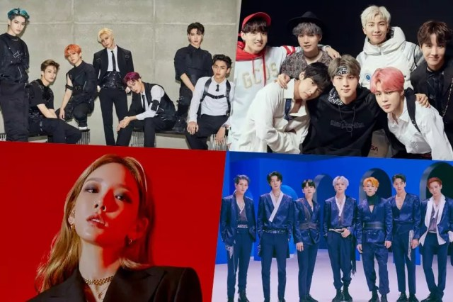 SuperM, BTS, Taeyeon, MONSTA X, And More Rank High On Billboard's World Albums Chart
