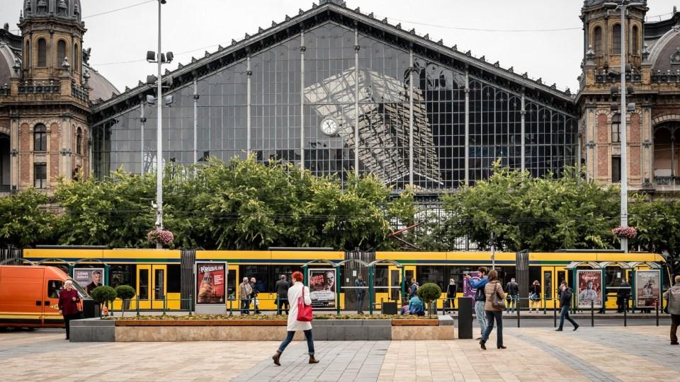 Budapest-Nyugati 車站外觀。圖片來源: WeloveBudapest