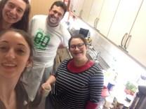 We ran a fairly effective kitchen :)