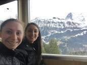 On the train to Murren