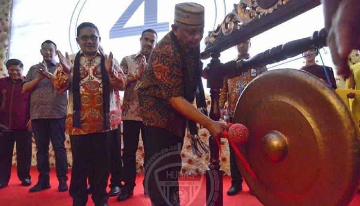 Resmikan Hotel Horison, Rusli: Bukti Besarnya Geliat Ekonomi Gorontalo