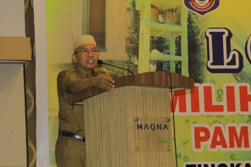 Peningkatan Pelayanan Sarana Air Minum Melalui Lomba KP-SPAMS