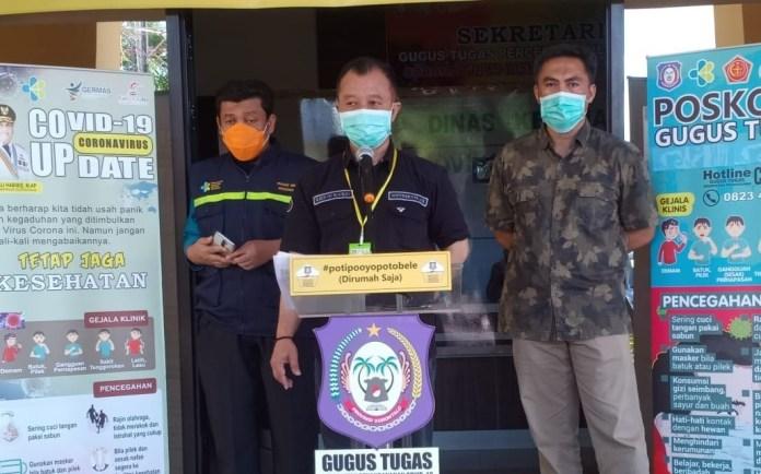 Update Covid-19 Gorontalo, 4 Pasien Positif Baru, 4 Pasien sembuh