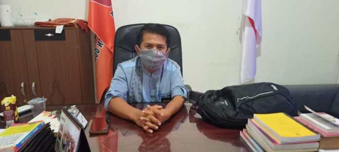 Koordinator Divisi Hukum, Penindakan Pelanggaran dan Penyelesaian Sengketa Bawaslu Kabupaten Gorontalo, Moh. Fadjri Arsyad