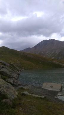 L'arrivée au lac