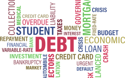 How should I clear up past due debt?