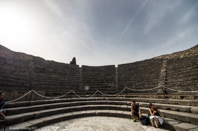 The small Theatre in Pompej, used for musical performances, still a very good acoustic.