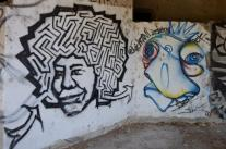 Jime Hendrix, maybe? Street Art in Mostar