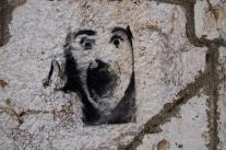 Streetart in Sarajevo: stencil