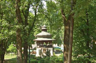 Music/tea pavillon in Sarajevo built by the ottomans about 200 years ago