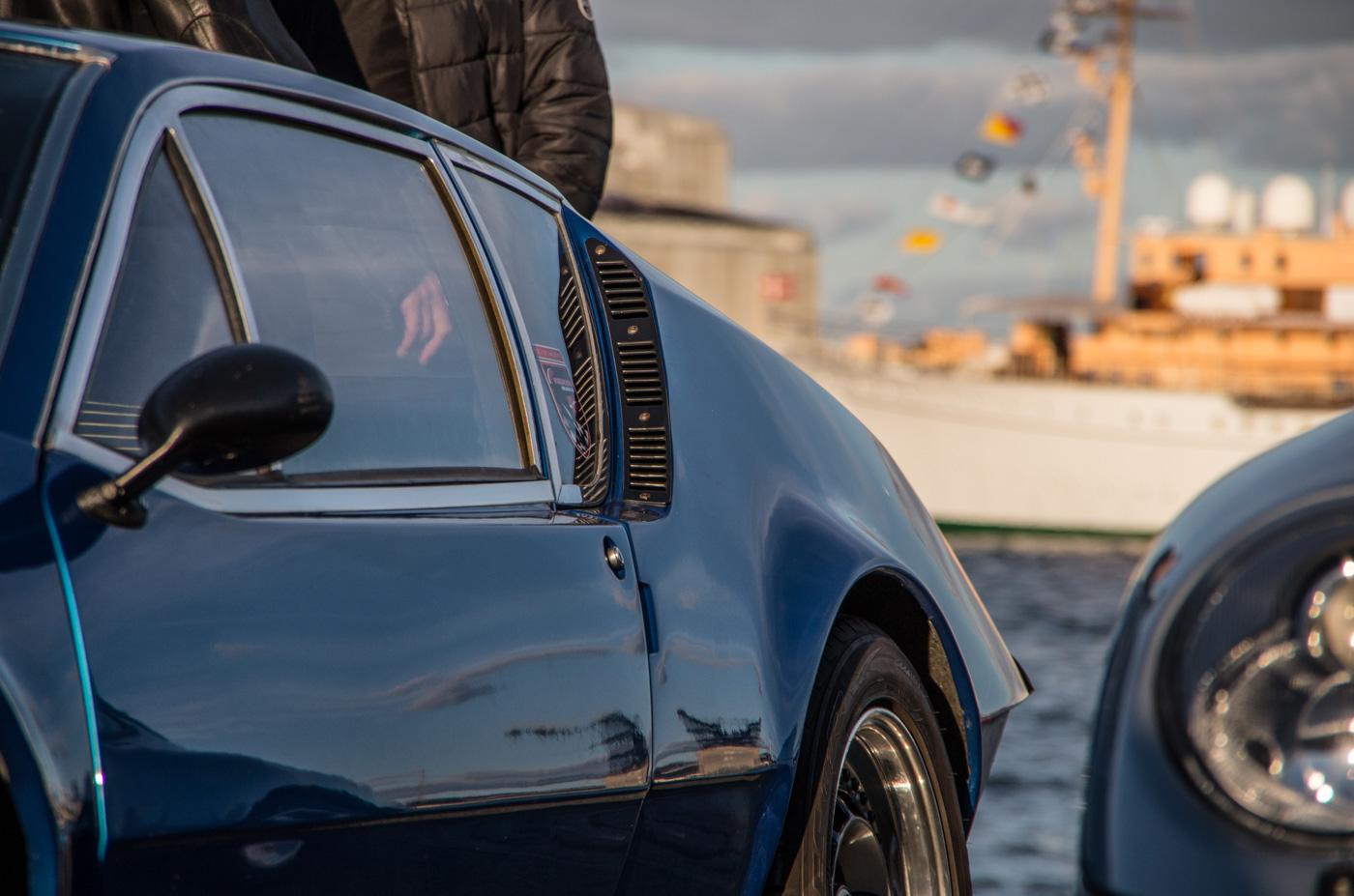 Renault Alpine, detail