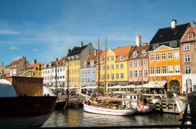 Nyhaven is definetly the place where Copenhagen matches its Clichés most closely - didn't really spend much time there.