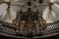 Organ in the church of Trinity, Trinitaten Kirke