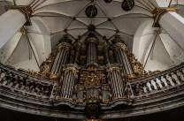 Organ in the church of Trinity, Trinitaten Kirke