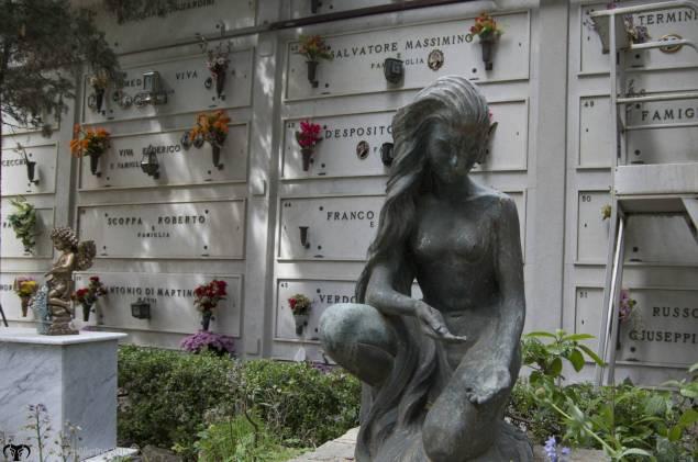 Graveyard in Anacapri