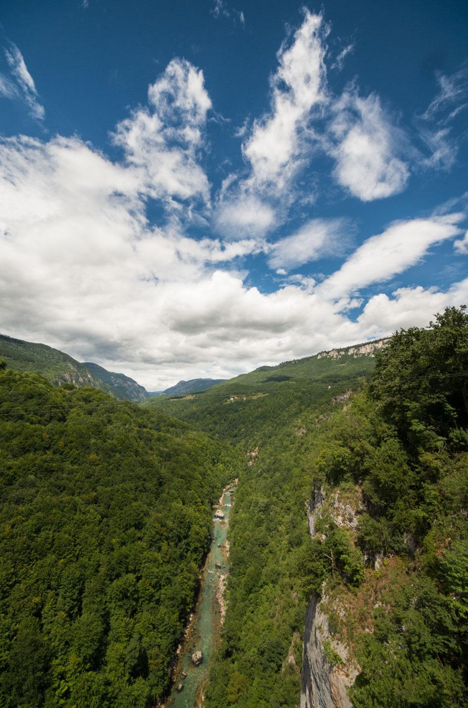 Bridge over the Tara canyon