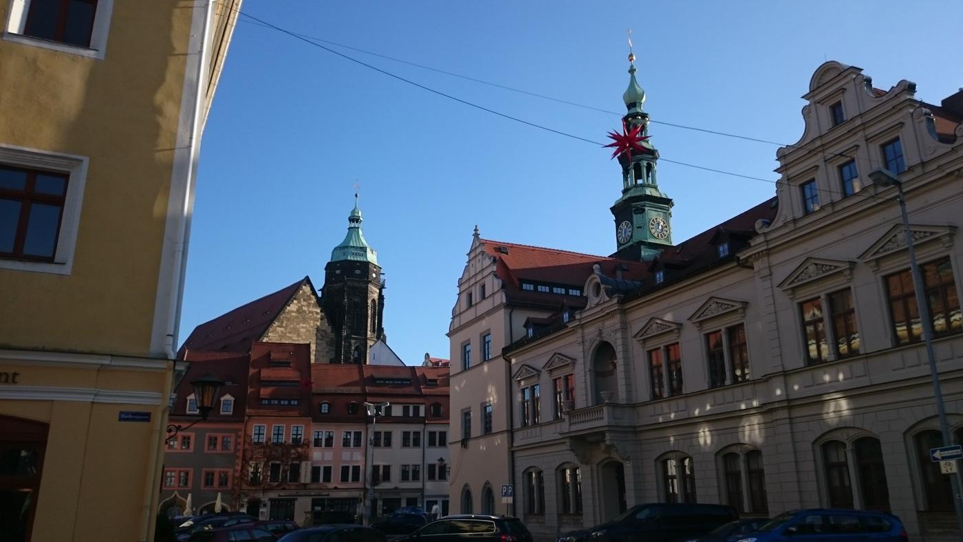 Marktplatz in Pirna