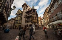 """Colmar really is this fairytale French village, where you always wait for someone to scream """"cut"""" and collapse all the props."""