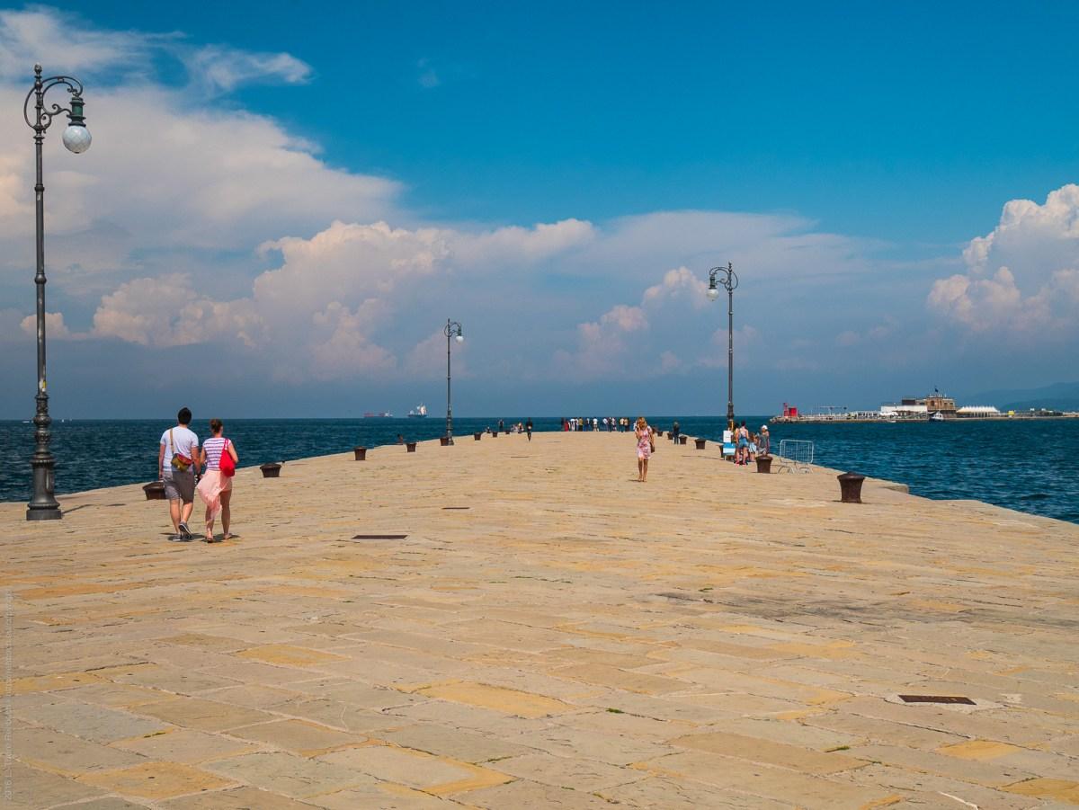 Grand Pier in Trieste