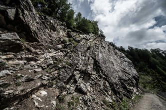 Another stone cliff