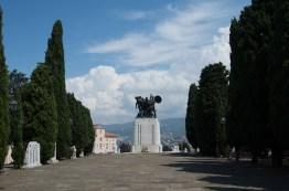 Memorial atop San Giusto Trieste