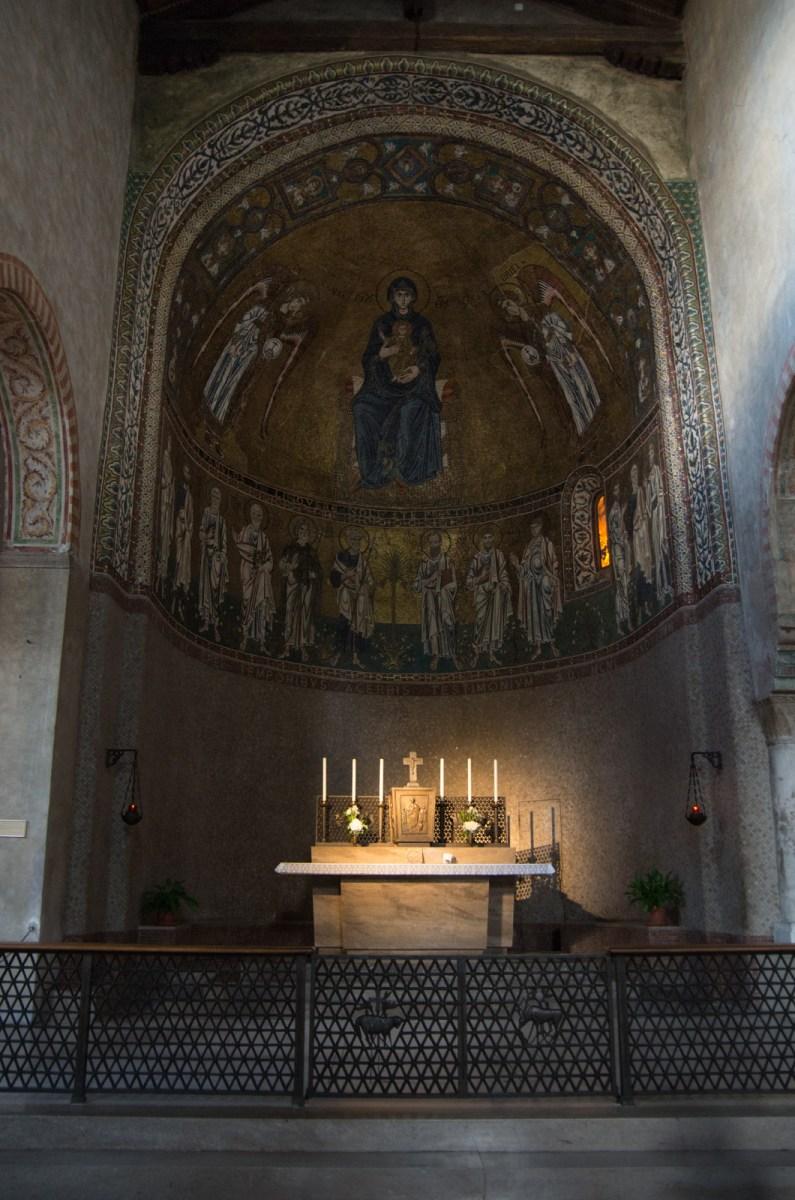 Altar in San Giusto cathedral